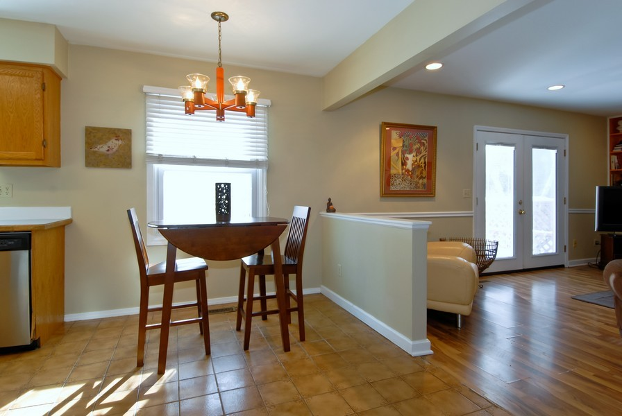 Real Estate Photography - 1581 Madison Ave, St. Charles, IL, 60174 - Breakfast Nook