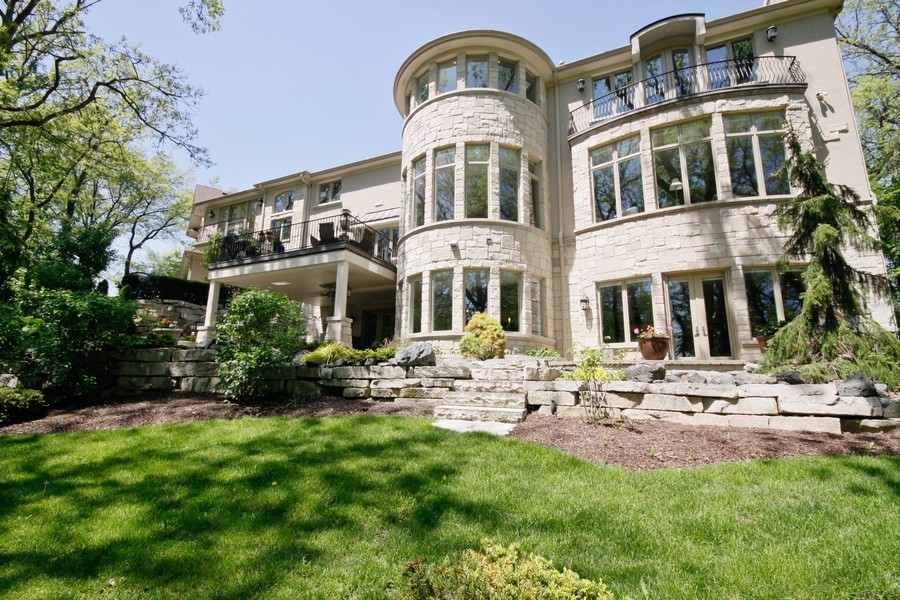 Real Estate Photography - 19 Baybrook Ln, Oak Brook, IL, 60523 - Unobstructed views Golf Course Wooded Grounds