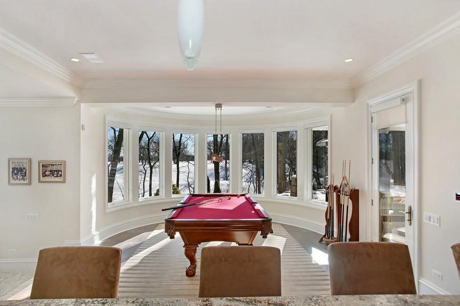 Real Estate Photography - 19 Baybrook Ln, Oak Brook, IL, 60523 - Billiard Room