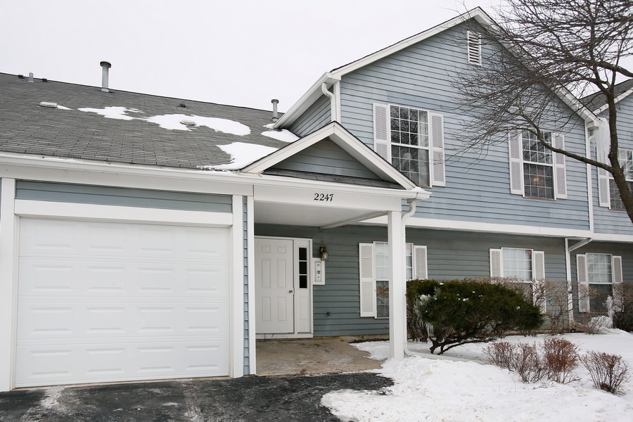 Real Estate Photography - 2247 Petworth Ct, 202D, Naperville, IL, 60565 - Front View