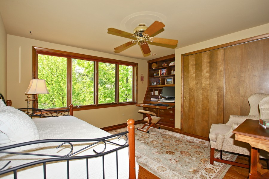 Real Estate Photography - 1433 Grant St, Downers Grove, IL, 60515 - 2nd Bedroom
