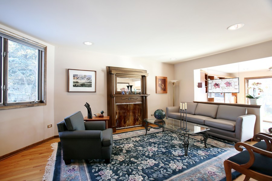 Real Estate Photography - 1433 Grant St, Downers Grove, IL, 60515 - Living Room