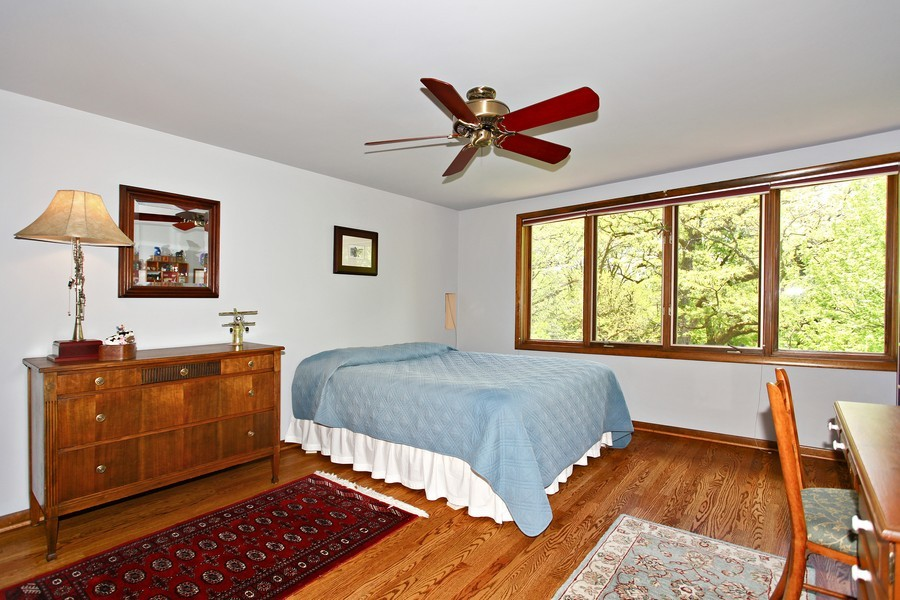 Real Estate Photography - 1433 Grant St, Downers Grove, IL, 60515 - Bedroom