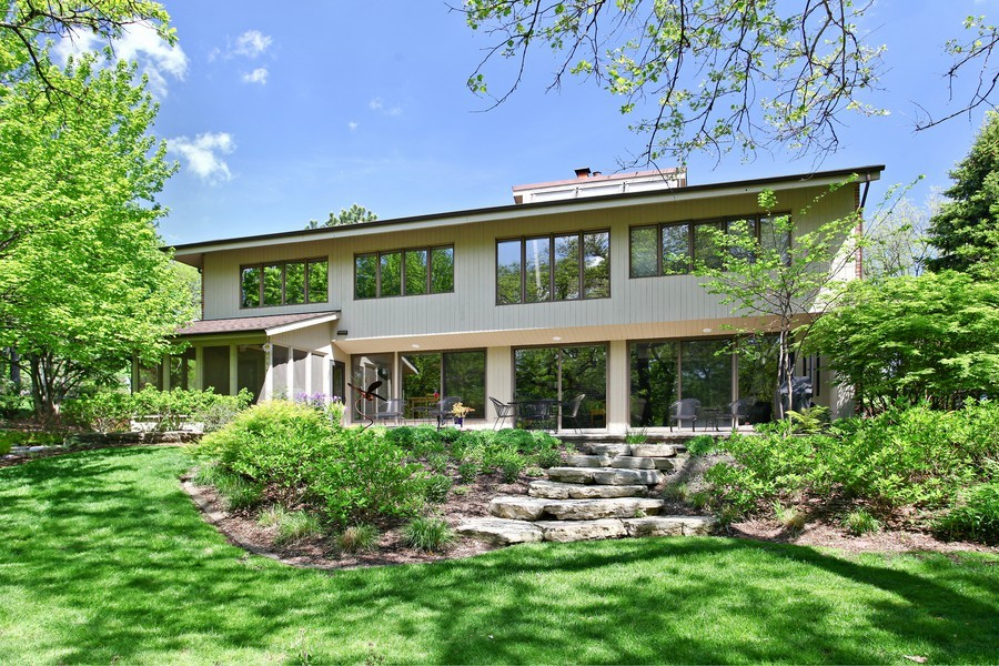 Real Estate Photography - 1433 Grant St, Downers Grove, IL, 60515 - Rear View