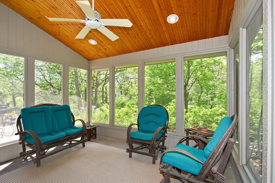 Real Estate Photography - 1433 Grant St, Downers Grove, IL, 60515 - Sun Room