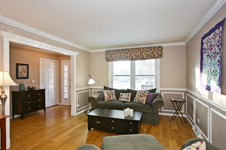 Real Estate Photography - 820 Morningside Dr, Naperville, IL, 60563 - Living Room