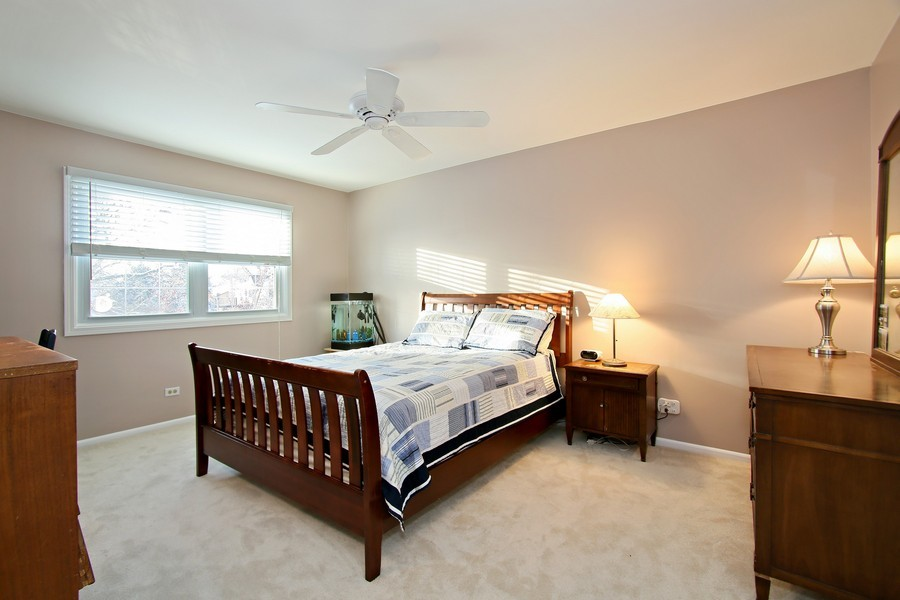 Real Estate Photography - 820 Morningside Dr, Naperville, IL, 60563 - Bedroom Four