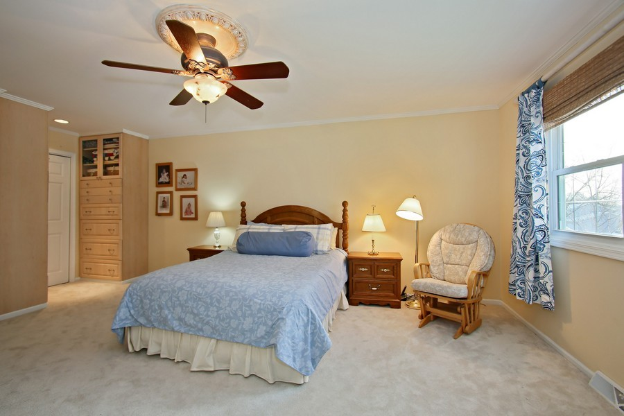 Real Estate Photography - 820 Morningside Dr, Naperville, IL, 60563 - Master Bedroom