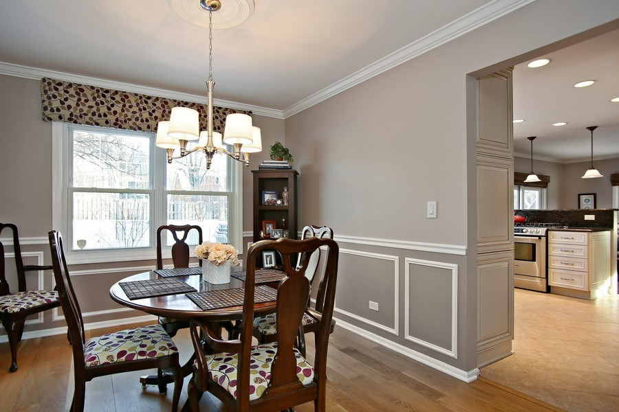 Real Estate Photography - 820 Morningside Dr, Naperville, IL, 60563 - Dining Room