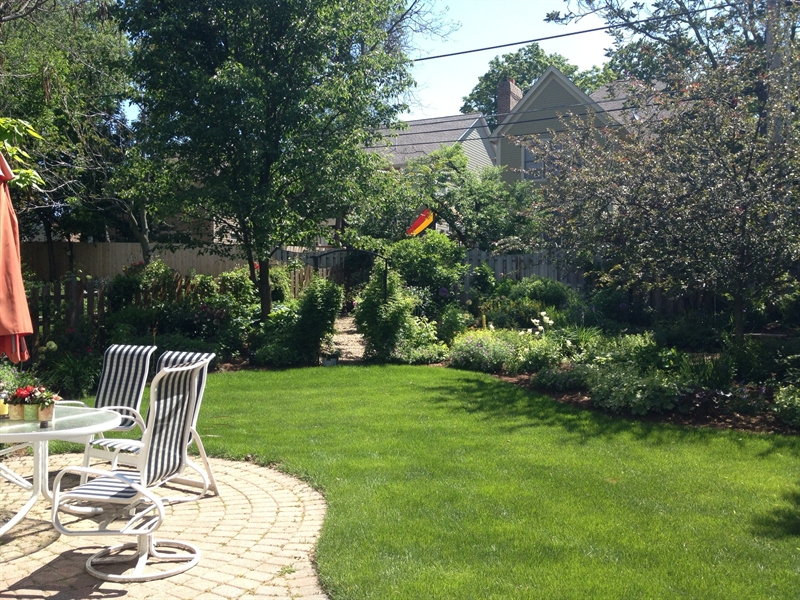 Real Estate Photography - 820 Morningside Dr, Naperville, IL, 60563 - Backyard and Patio