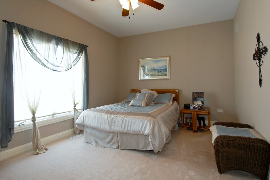 Real Estate Photography - 4164 Callery Rd, Naperville, IL, 60564 - 1st Floor Den currently being used as Bedroom 5