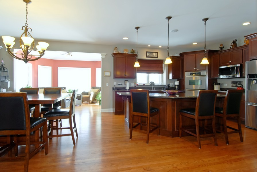 Real Estate Photography - 4164 Callery Rd, Naperville, IL, 60564 - Gourmet Kitchen, All Stainless Appliances!