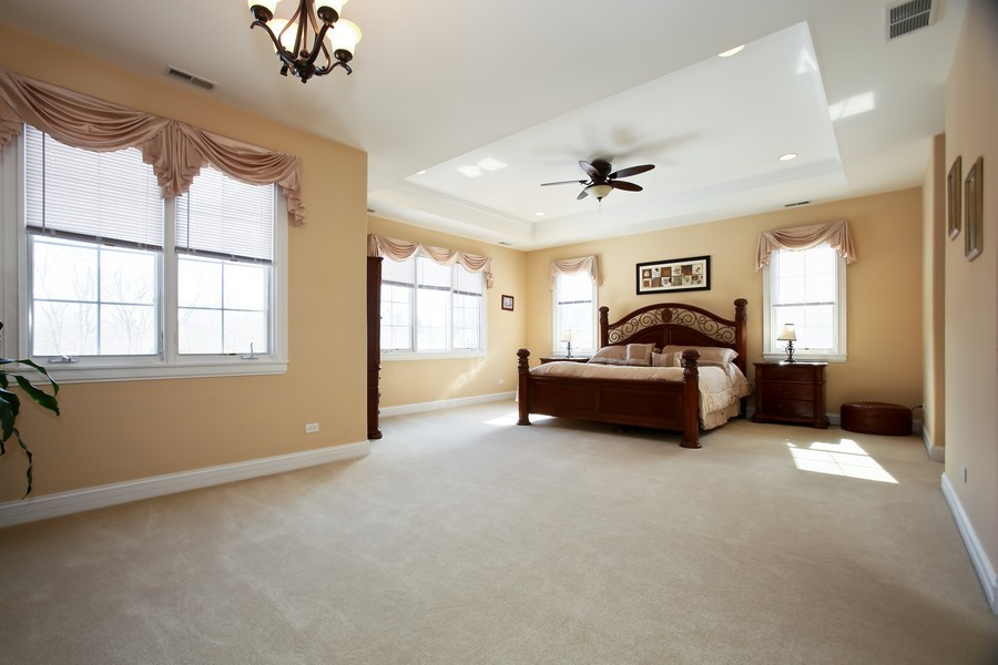 Real Estate Photography - 251 N Park, Westmont, IL, 60559 - Master Bedroom