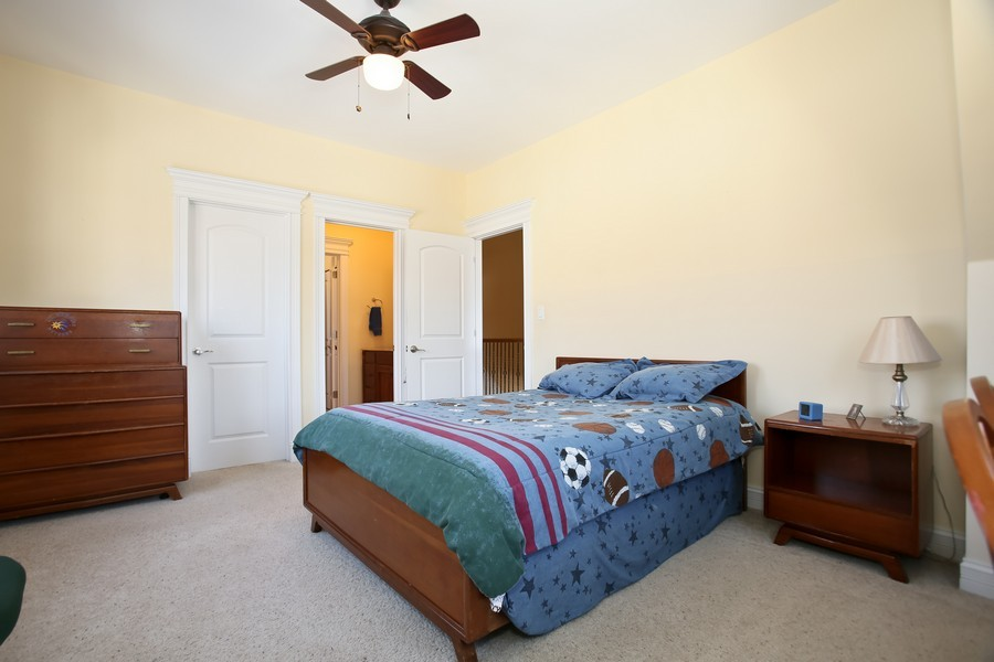 Real Estate Photography - 251 N Park, Westmont, IL, 60559 - 2nd Bedroom