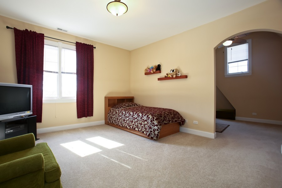 Real Estate Photography - 251 N Park, Westmont, IL, 60559 - 3rd Bedroom