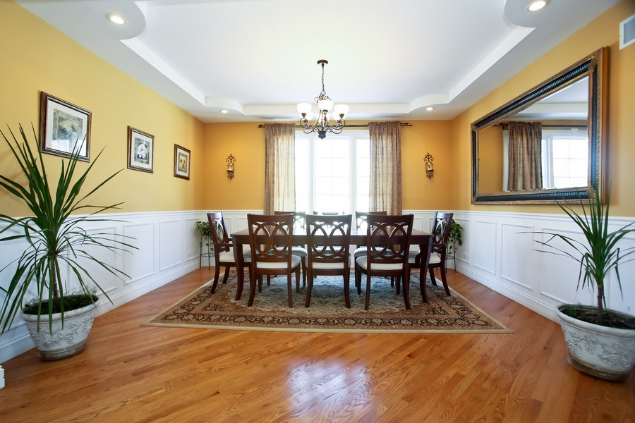 Real Estate Photography - 251 N Park, Westmont, IL, 60559 - Dining Room