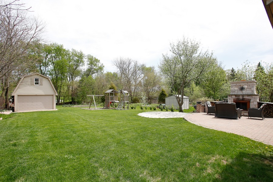 Real Estate Photography - 251 N Park, Westmont, IL, 60559 - Back Yard