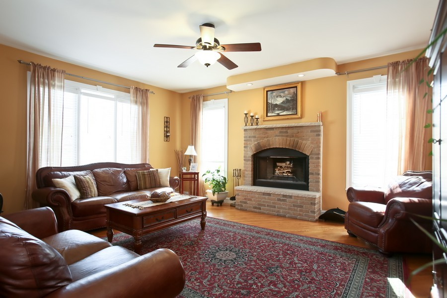 Real Estate Photography - 251 N Park, Westmont, IL, 60559 - Family Room
