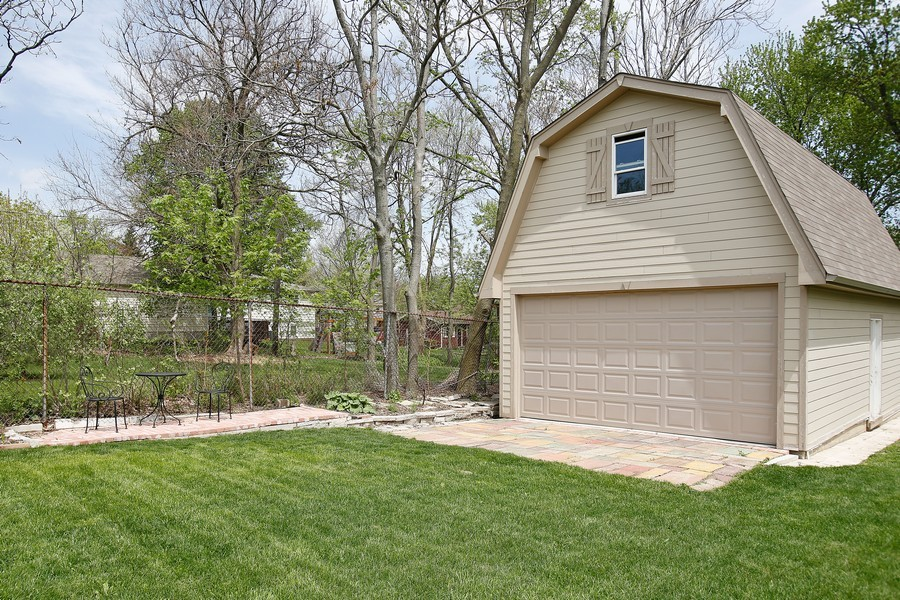 Real Estate Photography - 251 N Park, Westmont, IL, 60559 - Garage