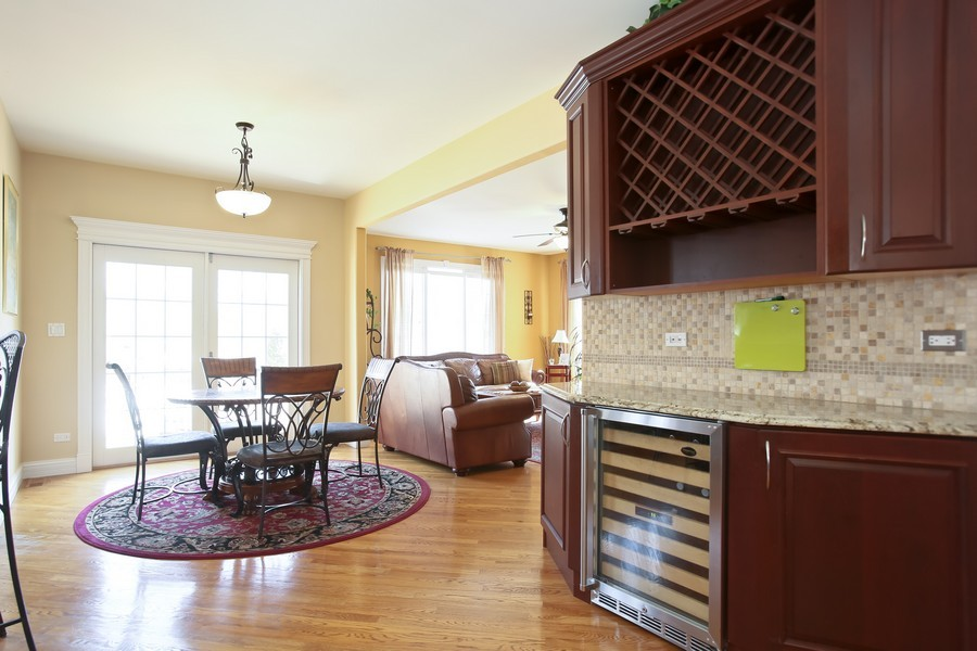 Real Estate Photography - 251 N Park, Westmont, IL, 60559 - Breakfast Area