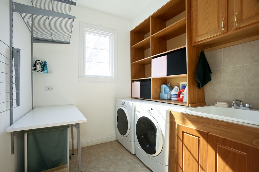 Real Estate Photography - 251 N Park, Westmont, IL, 60559 - Laundry Room