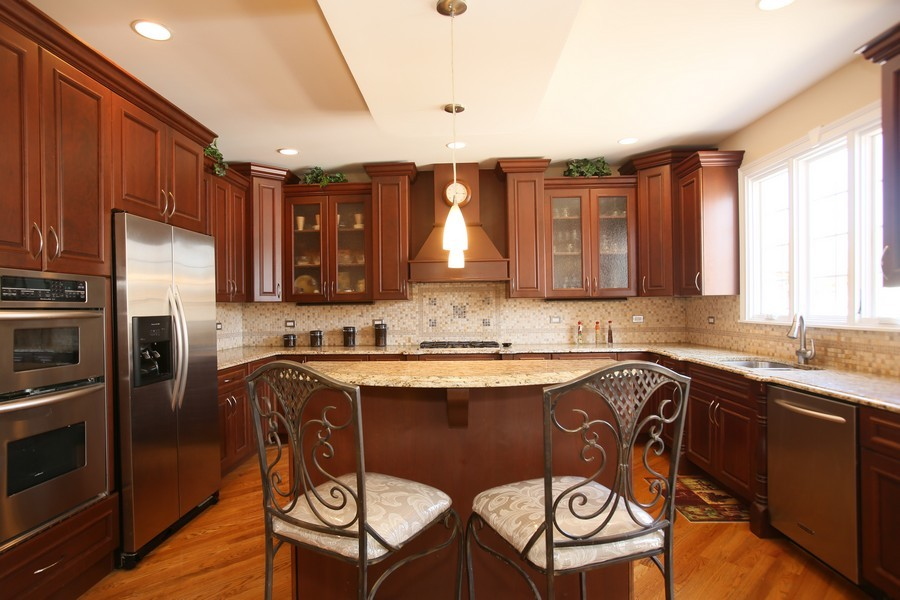 Real Estate Photography - 251 N Park, Westmont, IL, 60559 - Kitchen