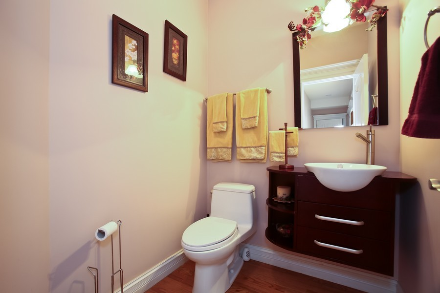 Real Estate Photography - 251 N Park, Westmont, IL, 60559 - Bathroom