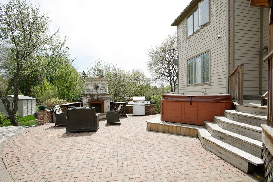 Real Estate Photography - 251 N Park, Westmont, IL, 60559 - Patio