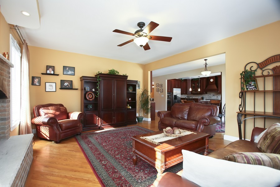 Real Estate Photography - 251 N Park, Westmont, IL, 60559 - Family Room / Kitchen
