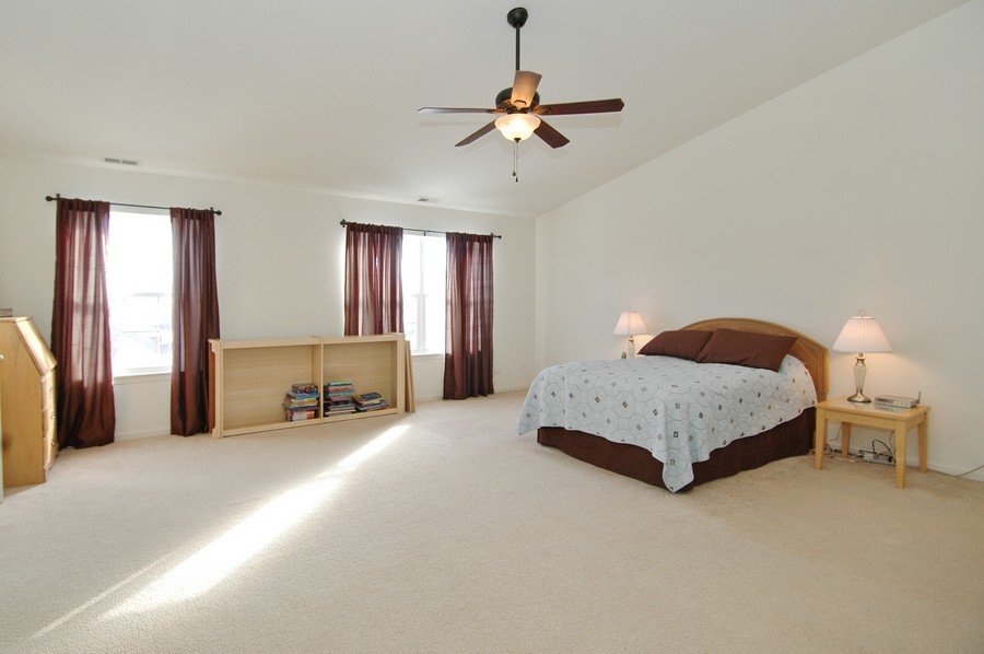 Real Estate Photography - 1133 Autumn Dr, Crystal Lake, IL, 60014 - Master Bedroom