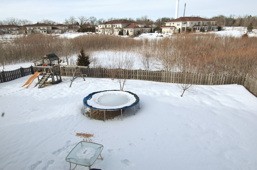 Real Estate Photography - 1133 Autumn Dr, Crystal Lake, IL, 60014 - Back Yard