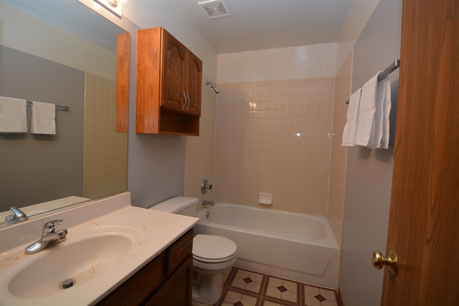 Real Estate Photography - 506 Pinecreek Dr, North Aurora, IL, 60542 - Family Bath