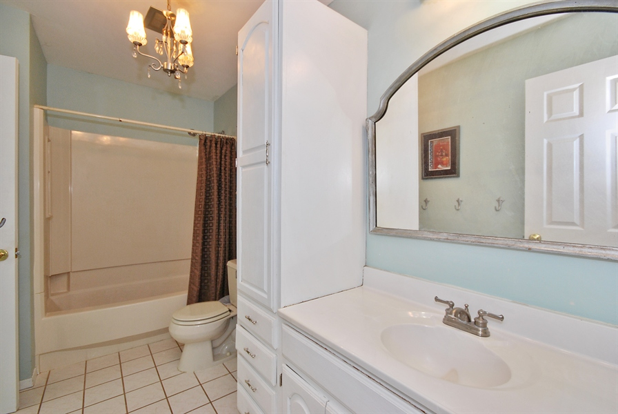 Real Estate Photography - 727 Fellows St, St. Charles, IL, 60174 - Master Bathroom
