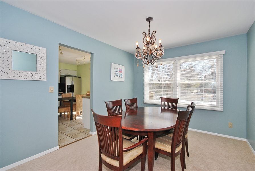 Real Estate Photography - 727 Fellows St, St. Charles, IL, 60174 - Dining Room