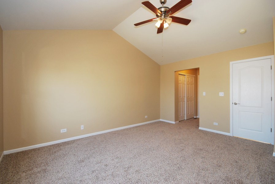 Real Estate Photography - 3030 Langston Cir, 3030, St. Charles, IL, 60175 - Master Bedroom