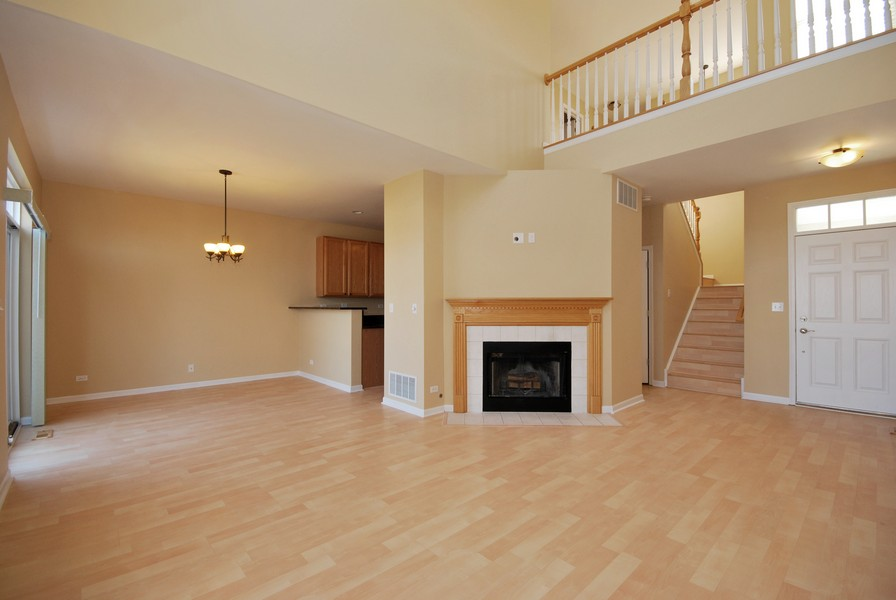Real Estate Photography - 3030 Langston Cir, 3030, St. Charles, IL, 60175 - Family Room