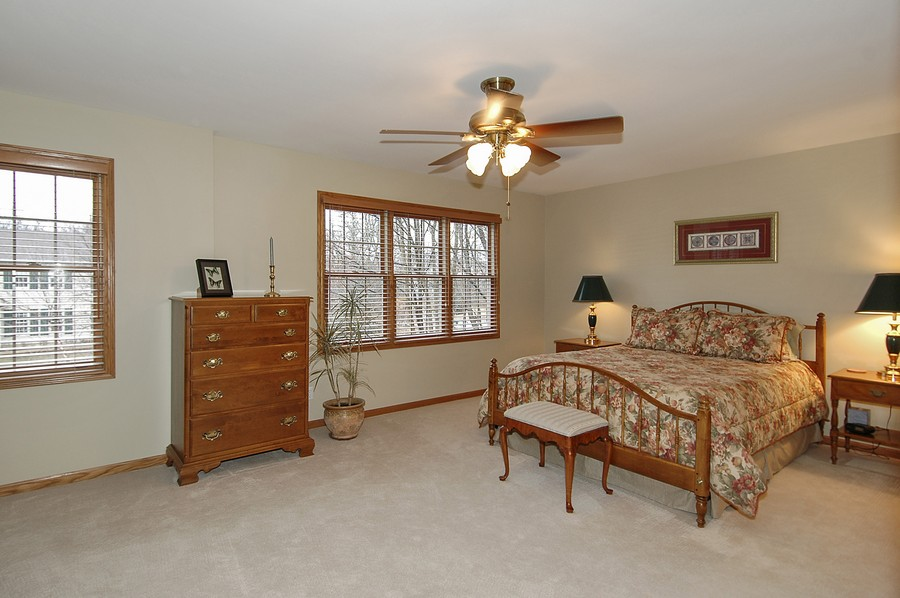 Real Estate Photography - 442 Kelly Ln, Crystal Lake, IL, 60012 - Master Bedroom