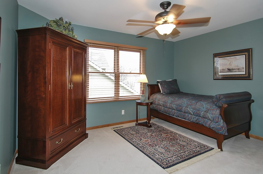 Real Estate Photography - 442 Kelly Ln, Crystal Lake, IL, 60012 - Bedroom