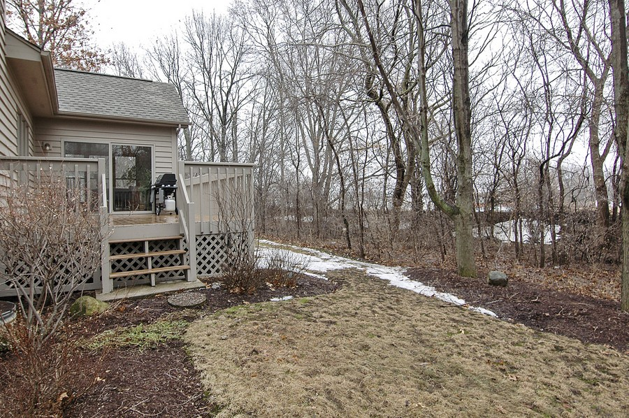 Real Estate Photography - 442 Kelly Ln, Crystal Lake, IL, 60012 - Back Yard