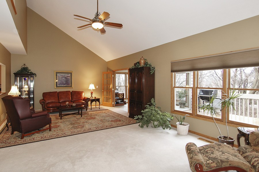 Real Estate Photography - 442 Kelly Ln, Crystal Lake, IL, 60012 - Family Room