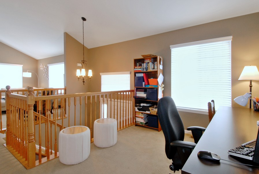Real Estate Photography - 801 Pheasant Trl, St. Charles, IL, 60174 - Loft View A
