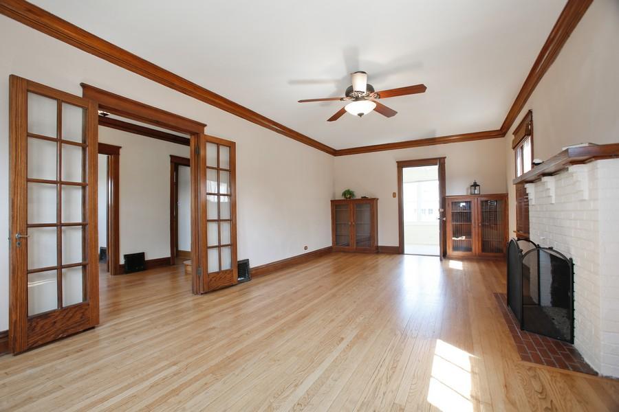 Real Estate Photography - 113 South LaGrange Rd, La Grange, IL, 60525 - Living Room
