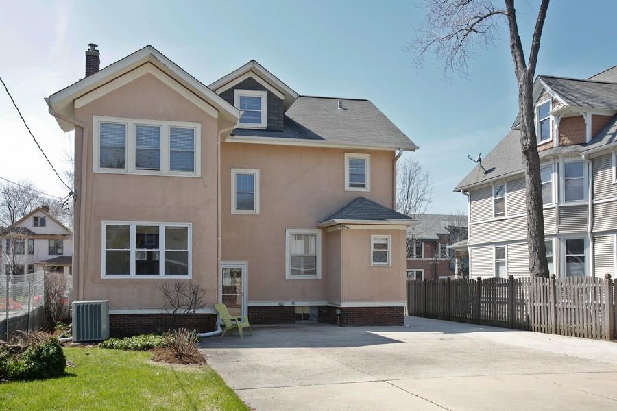 Real Estate Photography - 113 South LaGrange Rd, La Grange, IL, 60525 - Rear View