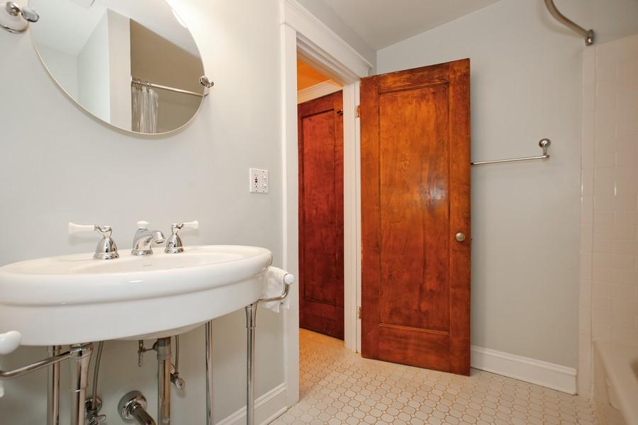 Real Estate Photography - 113 South LaGrange Rd, La Grange, IL, 60525 - 2nd Bathroom