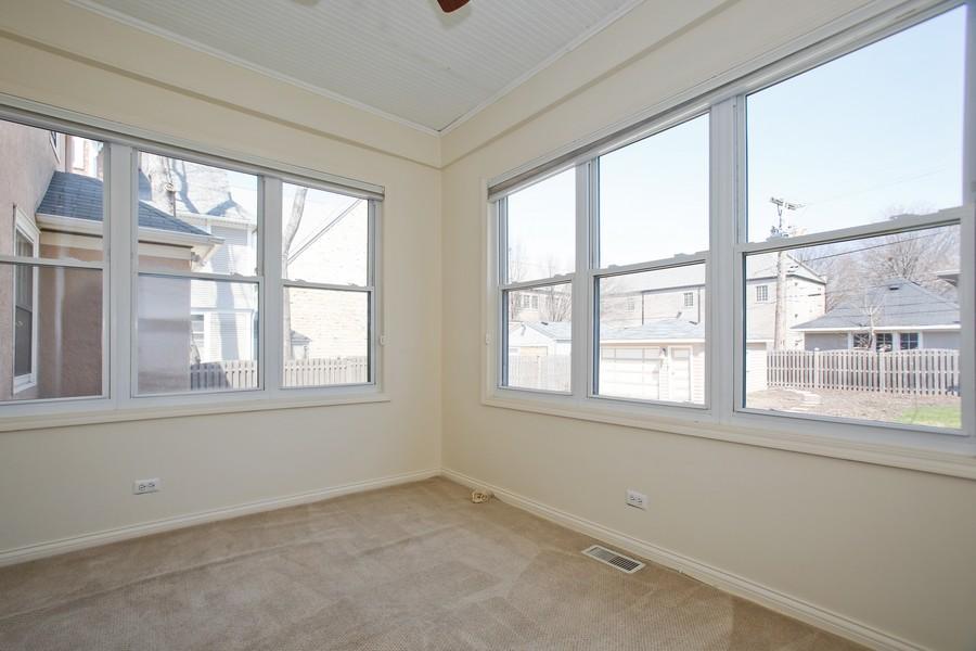 Real Estate Photography - 113 South LaGrange Rd, La Grange, IL, 60525 - Sun Room