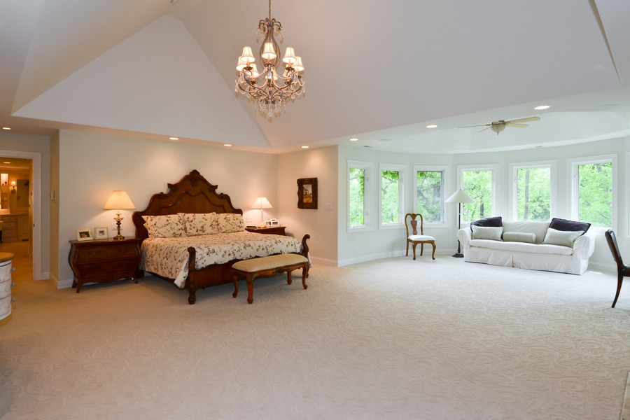 Real Estate Photography - 8S223 Derby Dr, Naperville, IL, 60540 - Master Bedroom