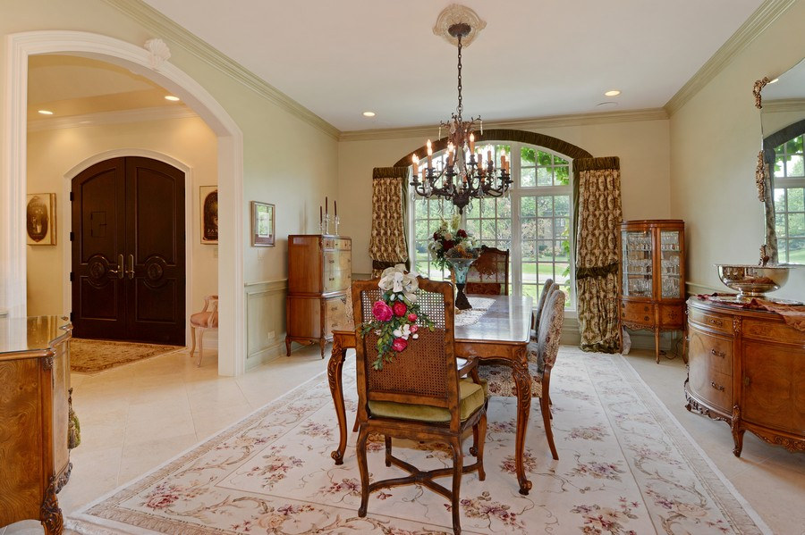 Real Estate Photography - 8S223 Derby Dr, Naperville, IL, 60540 - Dining Room