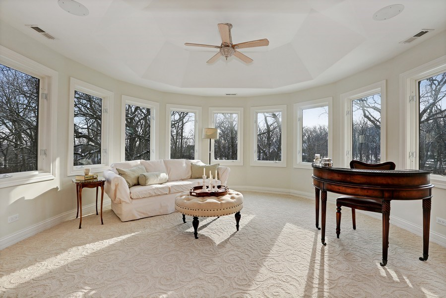 Real Estate Photography - 8S223 Derby Dr, Naperville, IL, 60540 - Gorgeous views of the property greet you from the
