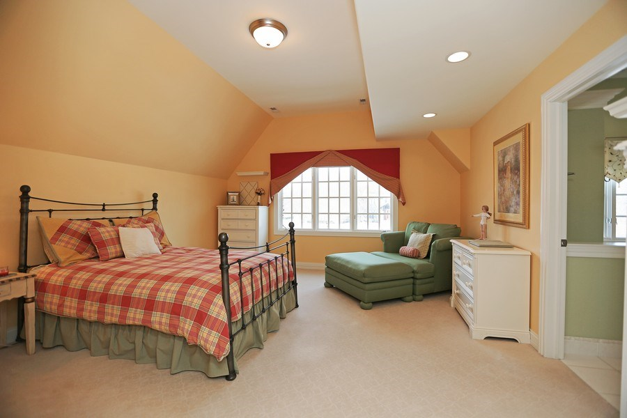 Real Estate Photography - 8S223 Derby Dr, Naperville, IL, 60540 - 4th bedroom with ensuite bath