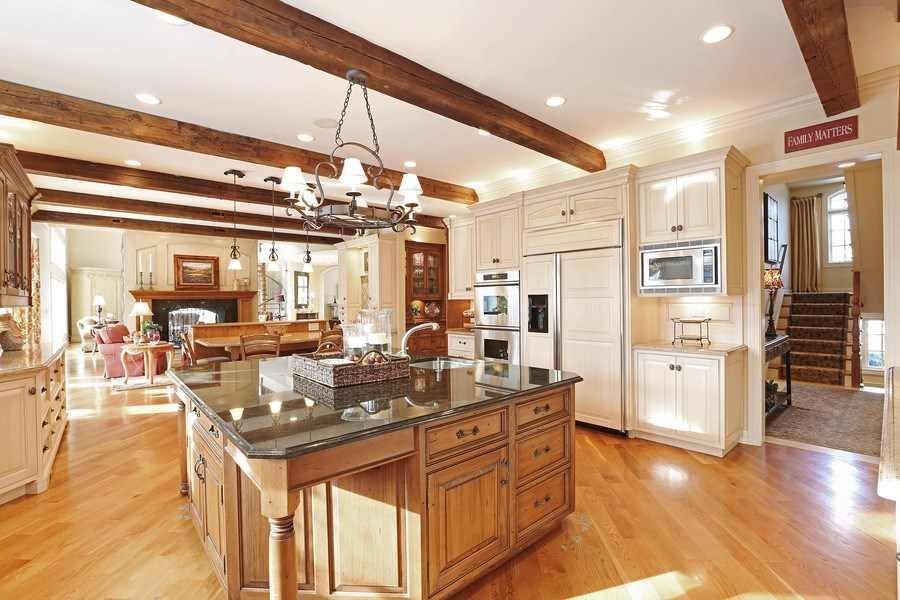 Real Estate Photography - 8S223 Derby Dr, Naperville, IL, 60540 - Kitchen with timeless appeal